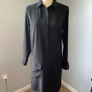 Black polka dot dress from Lila Rose